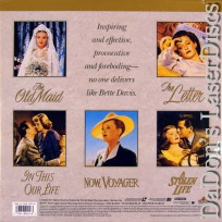 The Bette Davis Collection Rare NEW LaserDiscs Box Drama