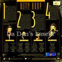Betty Boop Definitive Collection 1 Limit.Ed Box Set Rare LaserDisc Cartoon