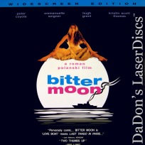 Bitter Moon DSS WS Rare LaserDisc Coyote Seigner Grant