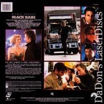 Black Rain DSS WS Rare LaserDisc LD Douglas Garcia *CLEARANCE*