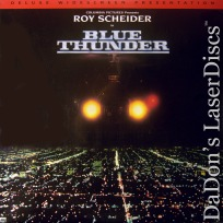 Blue Thunder DSS WS NEW LaserDisc Scheider Oates Action