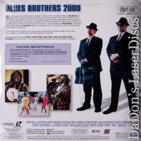 Blues Brothers 2000 AC-3 WS Rare LaserDisc Signature Aykroyd Rock Comedy