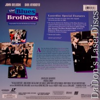 The Blues Brothers AC-3 THX WS LaserDisc Signature Collection Music Comedy