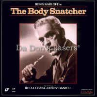The Body Snatcher 1944 LaserDisc Karloff Lugosi Horror
