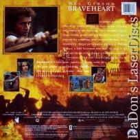 Braveheart AC-3 THX WS Rare LaserDisc NEW LD Gibson Adventure