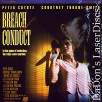 Breach of Conduct Rare LaserDisc Coyote Thriller *CLEARANCE*