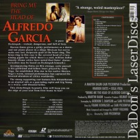 Bring Me the Head of Alfredo Garcia WS Rare LaserDisc