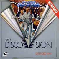 Buck Rogers in the 25th Century Mega-Rare DiscoVision LaserDisc Future Sci-Fi