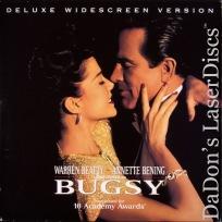 Bugsy DSS WS NEW Rare LaserDisc Beatty Bening Keitel Gangster Drama