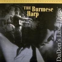 The Burmese Harp Remastered Rare Criterion LaserDisc #171 Drama