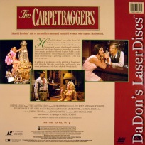 The Carpetbaggers WS Remastered LaserDisc Peppard Baker