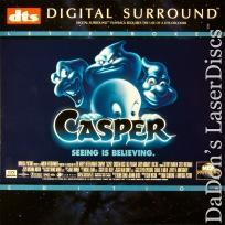 Casper DTS THX WS Rare LaserDisc Pullman Ricci Moriarty Comedy