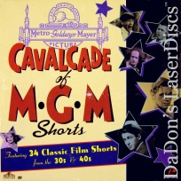 Cavalcade of MGM Shorts 1 Rare LaserDisc Box Stooges