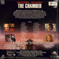 The Chamber DSS WS 1996 NEW LaserDisc Hackman O\'Donnell Courtroom Drama