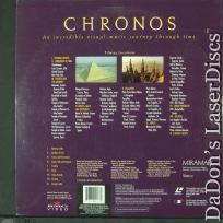 Chronos IMAX Dolby Surround Rare LaserDisc Fricke History Documentary