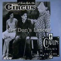 The Circus 1928 CAV Silent Classic LaserDisc Chaplin