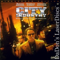 City of Industry DSS WS NEW LaserDisc Keitel Dorff Liu Thriller