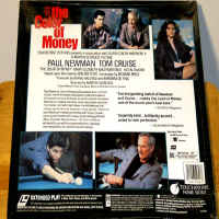 The Color of Money LaserDisc Tom Cruise Paul Newman