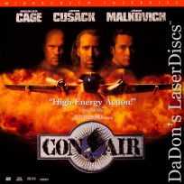 Con Air AC-3 THX WS LaserDisc Cage Cusack Malkovich Action