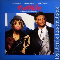 Cookie LaserDisc Rare LD Falk Lloyd Wiest Pasdar Comedy