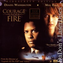 Courage Under Fire AC-3 THX WS Rare LaserDisc Meg Ryan Political Drama