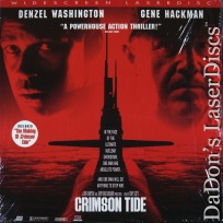 Crimson Tide AC-3 THX WS NEW Rare LaserDisc Washington Thriller