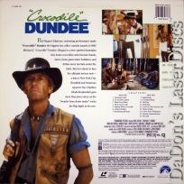 Crocodile Dundee DSS WS Rare LaserDisc Hogan Comedy