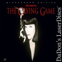 The Crying Game DSS WS LaserDisc Rea Davidson Whitaker Thriller