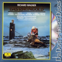 Das Rheingold Rare NEW LaserDiscs Box Wagner Opera *CLEARANCE*