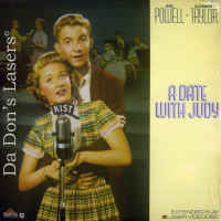 A Date with Judy Rare NEW LaserDisc Taylor Powell Beery