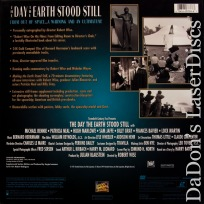 Day The Earth Stood Still Autographed Boxset Rare LaserDisc + CD Sci-Fi