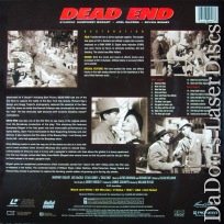 Dead End LaserDisc NEW PSE Pioneer Special Edition Bogart Crime Drama