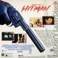 Diary of a Hitman LaserDisc Whitaker Belushi Stone Fenn Thriller