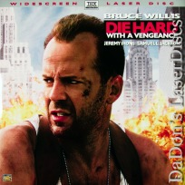 Die Hard With a Vengeance AC-3 THX WS LaserDisc Willis Action