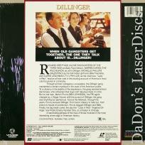 Dillinger Mega-Rare LaserDisc Dreyfuss Oates Crime Drama