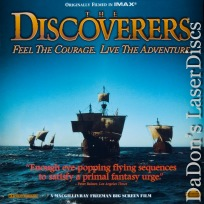 The Discoverers Dolby Surround IMAX CAV LaserDisc Rare LaserDisc Documentary