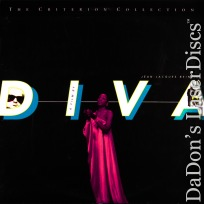 Diva WS Criterion #309 NEW LaserDisc Beineix Andrei