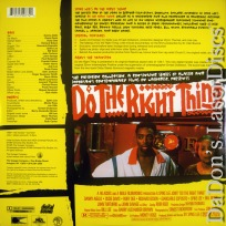 Do the Right Thing WS NEW Criterion #266 LaserDisc Drama
