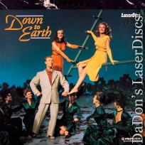 Down to Earth \'47 LaserDisc PSE Pioneer Special Edition NEW Rare Parady Musical