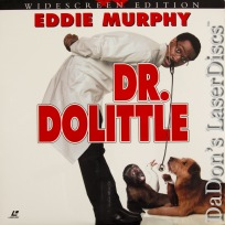 Dr. Dolittle AC-3 WS NEW LaserDisc Murphy Rock Comedy