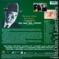 Dr. No THX WS Rare LaserDisc 007 James Bond Connery Andress Spy *CLEARANCE*