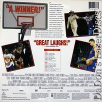 Eddie AC-3 WS NEW LaserDisc Goldberg Langella NY Knicks Comedy