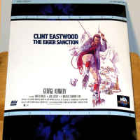 The Eiger Sanction WS NEW LaserDisc Eastwood Kennedy Action