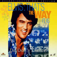 Elvis That\'s The Way It Is Remastered WS Rare LaserDisc Documentary