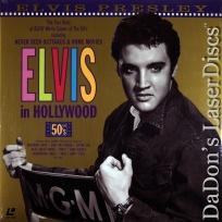Elvis in Hollywood The Fifties NEW LaserDisc Presley Film Reviews Documentary