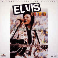 Elvis on Tour Remastered Widescreen LaserDisc Presley Documentary Concert Music