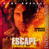 Escape From L.A. AC-3 THX WS Rare LaserDisc LD Russell Explosive Action