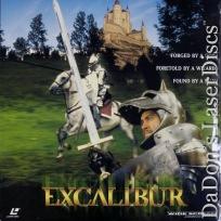 Excalibur AC-3 WS Rare LaserDisc Neeson NEW Fantasy