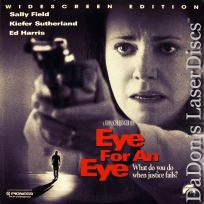 Eye for an Eye AC-3 WS NEW LaserDisc Field Sutherland Crime Thriller
