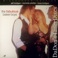 The Fabulous Baker Boys DSS WS NEW LaserDisc Bridges